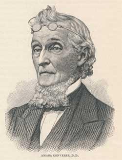Amasa Converse, D.D. [21 August 1795 - 9 December 1872]