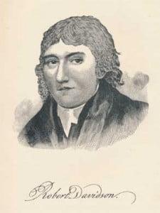 Rev. Robert Davidson