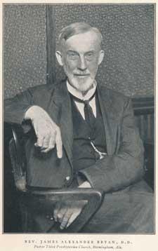 James Alexander Bryan [20 March 1863 - 28 January 1941]