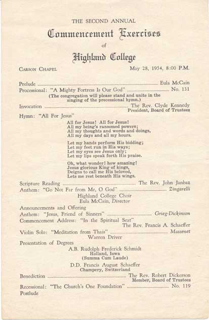 highland_commencement_1954
