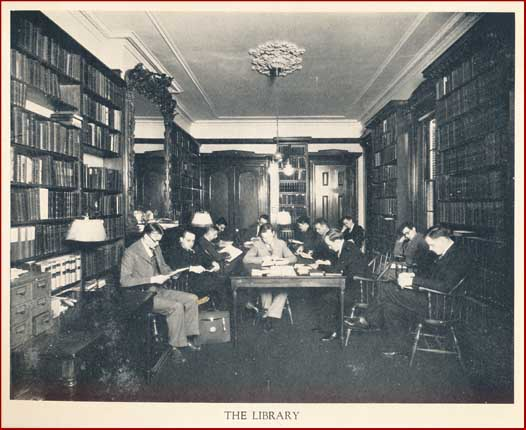 The Library at Westminster Theological Seminary, 1929-1930.