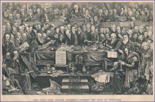 FreeChurchOfScotland_Signing_the_Deed_of_Demission_1843